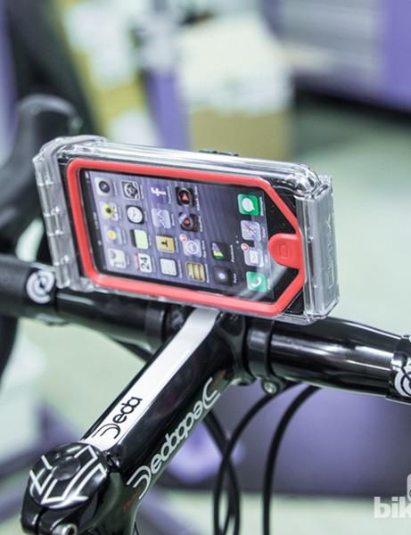 Optrix iPhone bar mount