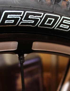 650b wheels became more and more prevalent in 2013