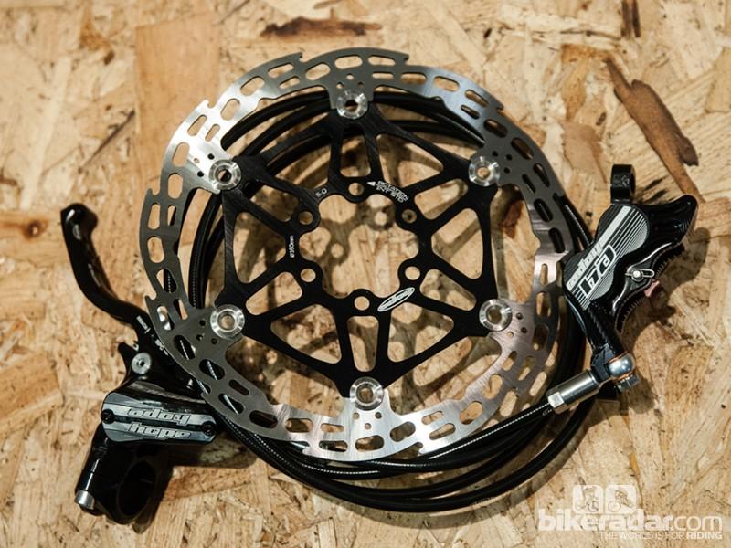 Hope Tech 3 E4 brakes