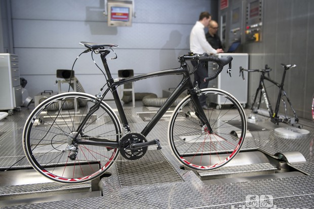 The chassis tools can do complete bikes and not just frames