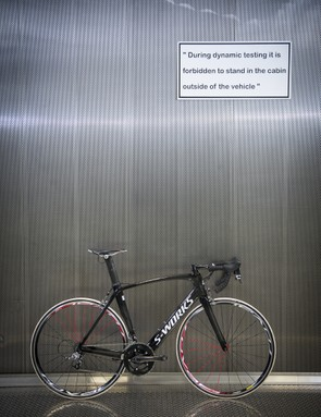 This Venge may well be the last S-Works bike to be developed without McLaren's cutting-edge research behind it