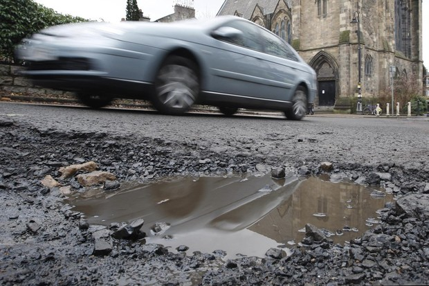 Potholes are a scourge of cyclists and motorists alike