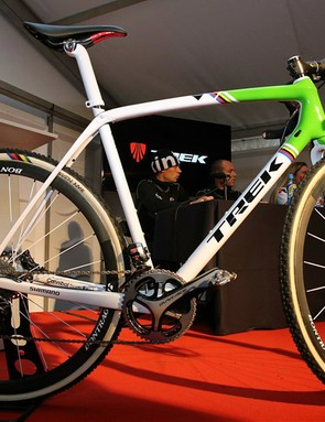 Trek unveiled the new Boone at the GP Sven Nys cyclocross race in Belgium