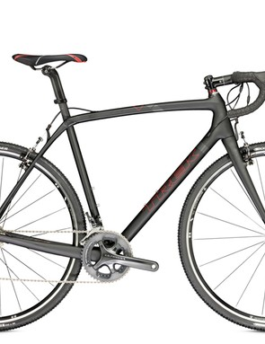 The lightest model is the rim brake-specific Trek Boone 9 (US$4,200), built with a Shimano Ultegra Di2 group, TRP RevoX cantilever brakes, and Bontrager Race Lite wheels