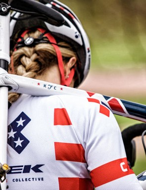 Top American female 'cross racer Katie Compton played a pivotal role in tweaking the geometry of the new Trek Boone