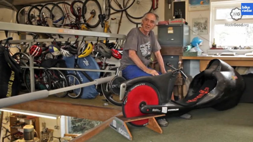 Mike Burrows explains why recumbents can ride faster up hills than normal bikes