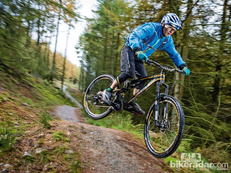 The Mega TR 275 Pro is not for all-day rides but is great fun on the trails