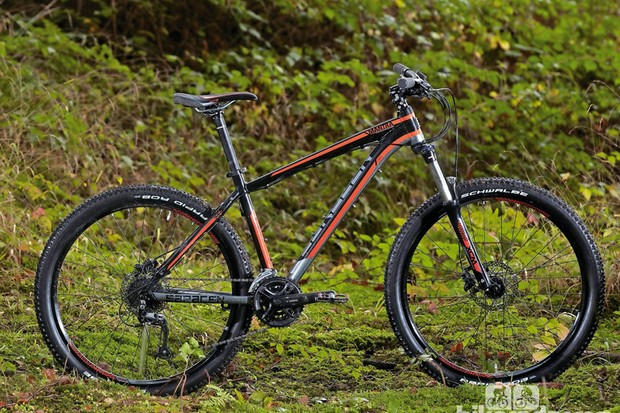 The Saracen Mantra has acquired 650b wheels for 2014