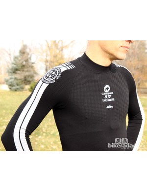 Assos cold-weather gear: The polypropolene EarlyWinter baselayer is treated to fight odor