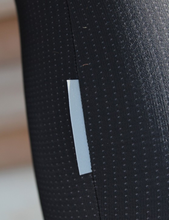 Assos cold-weather gear: Stitched-in reflectors will last longer than adhesive patches