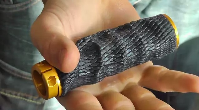 The TMR Designs Imprint Grips are heat moulable at home