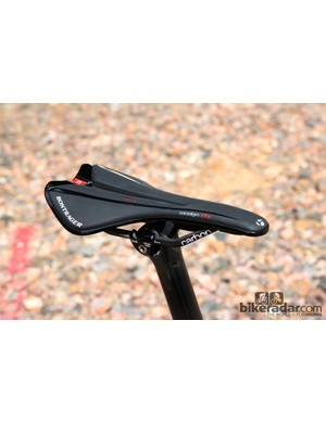 Bontrager's new Paradigm XXX saddle is its best road saddle yet. The shape is firm but very supportive and comfortable - even after a long day covering four passes in the Dolomites