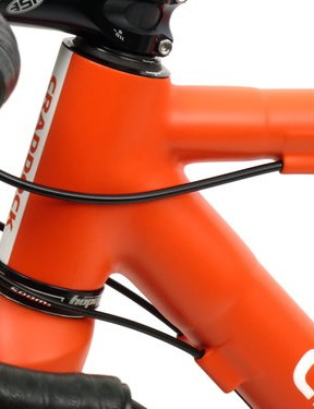 Richard Craddock's frame is unashamedly classical in its looks - check out the external cable routing
