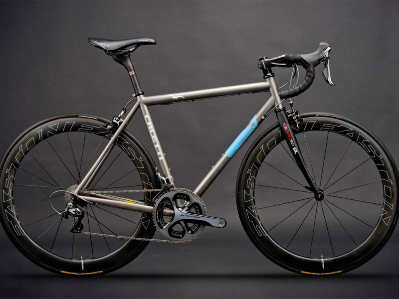 Easton Dream Bike: Caletti Cycles contributed this 54cm titanium bike
