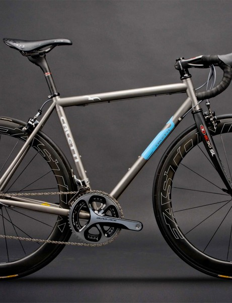 Easton Dream Bike: Caletti Cycles contributed this 54cm titanium bike