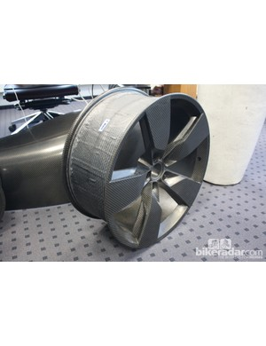 Carbon fibre wheels for an Audi? Not a problem for AX!