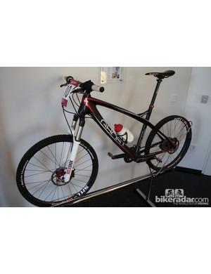Katrin Leumann's Ghost Factory race bike, as used in the 2012 Olympics