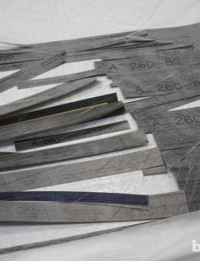Once the cutting is complete, each section can simply be seperated from the original sheet...