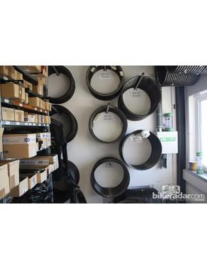 Rims werenot in short supply