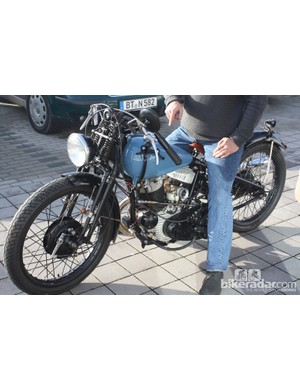 More toys. This time a 1940s Harley Davidson motorcycle