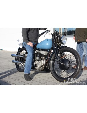 Another look at the '40s Harley