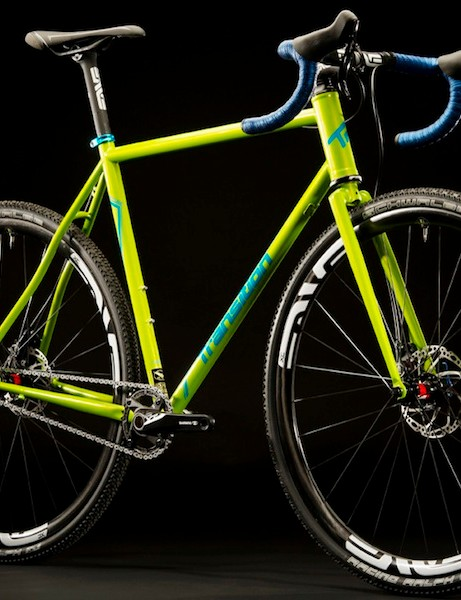 The Rapture is Transition's first cyclocross rig. The frame with matching steel retails for US$599 (UK pricing TBA)