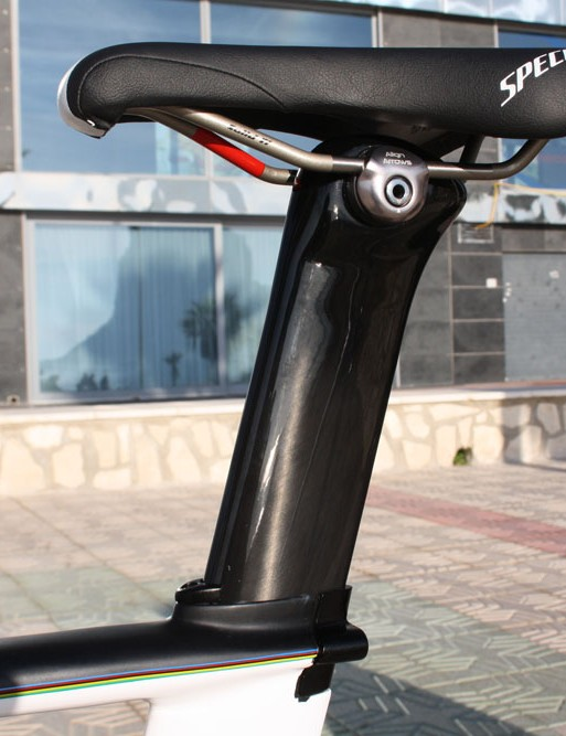 A Specialized TTS saddle