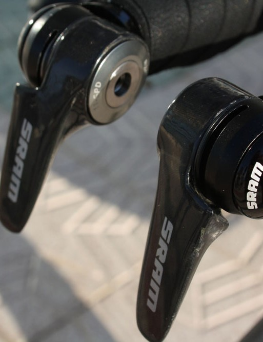 SRAM riders are still on cable shifting