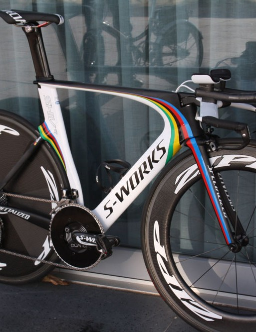 The Specialized Shiv ready for action