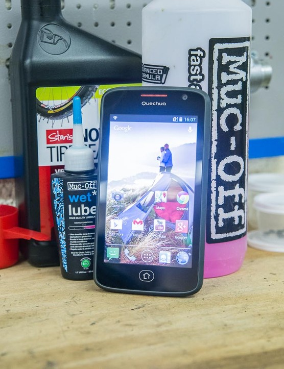 The Quechua Mountain Phone 5: for rugged, outdoorsy types