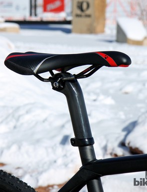 The inverted design of the no-cut integrated seatmast means that there's no way for water to get in up top