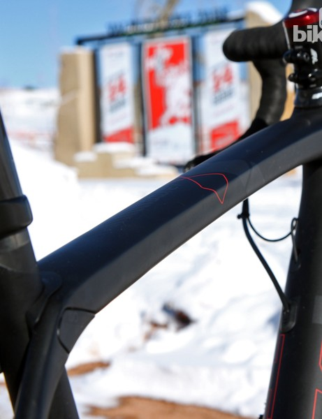 Tube shapes on the Trek Boone bear a lot of familial resemblance to other bikes in the company's carbon range