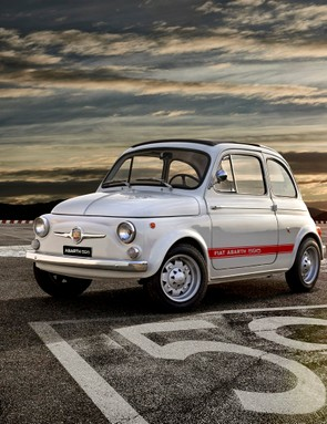 The original Abarth 595, 50 years old and the inspiration behind the Montante creation
