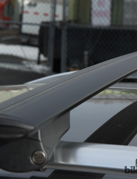 All of RockyMounts' new roof rack systems will feature aero-profile extruded aluminum crossbars