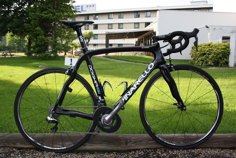 CNN explore the company that produced Chris Froome's Tour de France winning bike