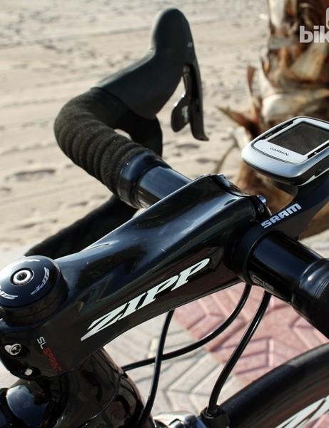 Zipp says the SL Sprint carbon fiber stem has the