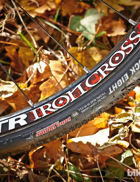 The Kenda tyres aren't the best off-road, but you can go tubeless - and save weight