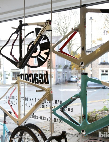 Beacon Bikes' The Fell shop: We were like kids in a candy shop here