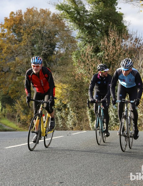 The hills of Lancashire not only provided inspiration for the range, but are also a great way to experience the bikes