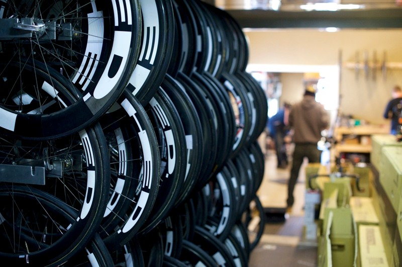 Can you guess which company provides wheels for Optum Pro Cycling?