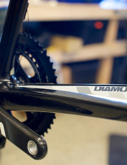 The Diamondback Podium Equipes are built up with SRAM Force 22