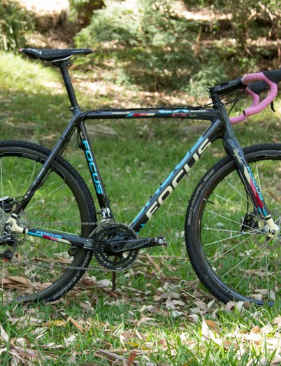 The Focus Mares CX 1.0 is familiar sight at the pointy end of Cyclocross - Nick's is a little different