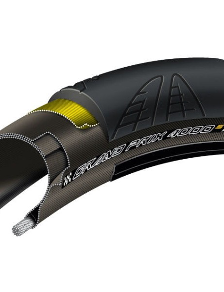 Save 48% off the RRP of Continental GP4000S road tyres