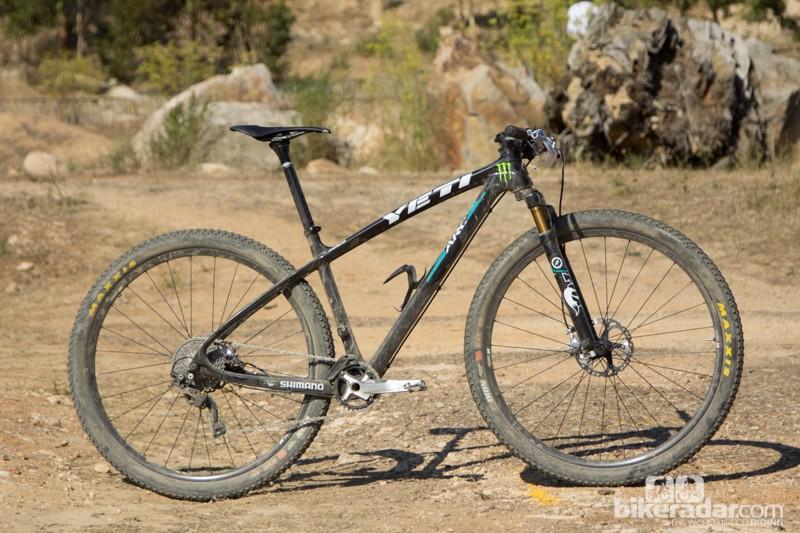 The Yeti ARC Carbon 29er wss Graves' choice