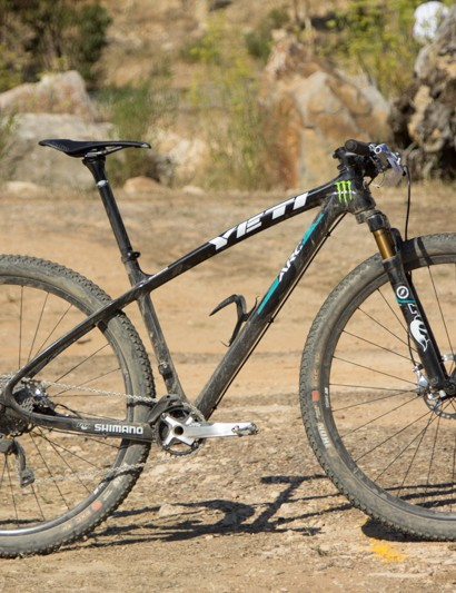The Yeti ARC Carbon 29er wss Graves' choice