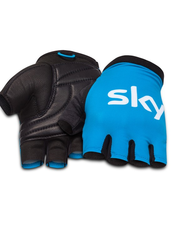 Team Sky's new Rapha cycling gloves (£70)