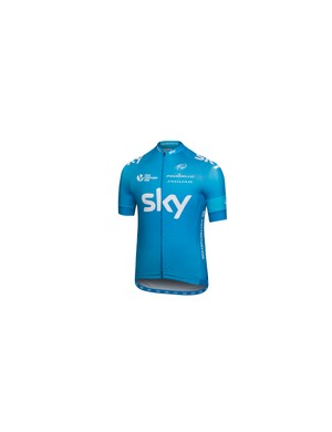 Rapha's Team Sky Pro Collection jersey is available in Hawaiian blue for supporters