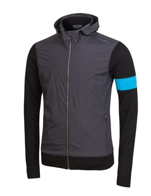 The updated Merino Hoodie is in Rapha's Supporters' Collection; chances are team staff will also wear some of this gear