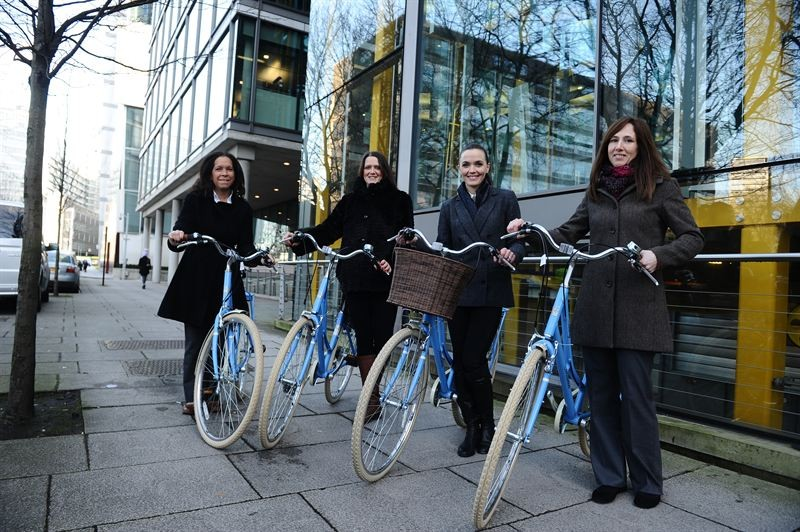 Victoria Pendleton joins Marks & Spencer cycle to work scheme participants
