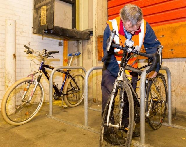 Parcelforce had 24 parking spaces installed for employees at its Ealing depot